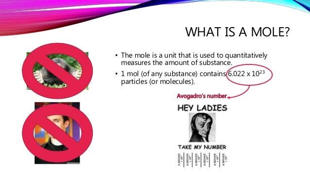 The mole (chemistry)