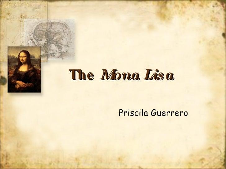 The mona lisa power point the mona lisa priscila guerrero toneelgroepblik Choice Image