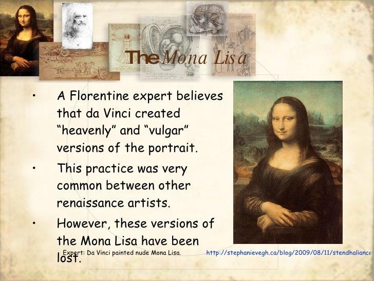 The Mona Lisa Power Point