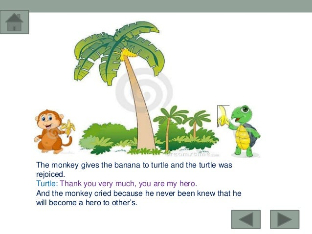the monkey and the turtle blaan Uexpresscom is home to the best syndicated the monkey's mistake (a tale from the philippines) nov and together the monkey and the turtle pulled the banana.