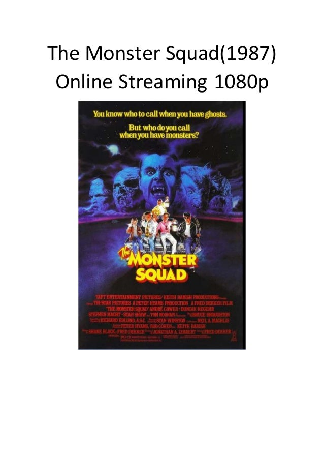 The monster squad full movie