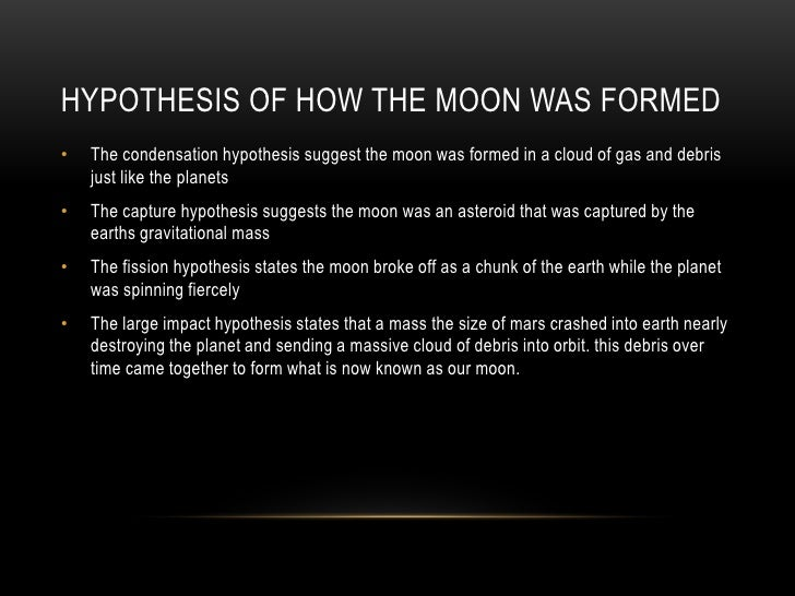 The Origin of the Moon part 2