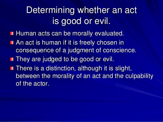 What is the difference between human acts and acts of human?