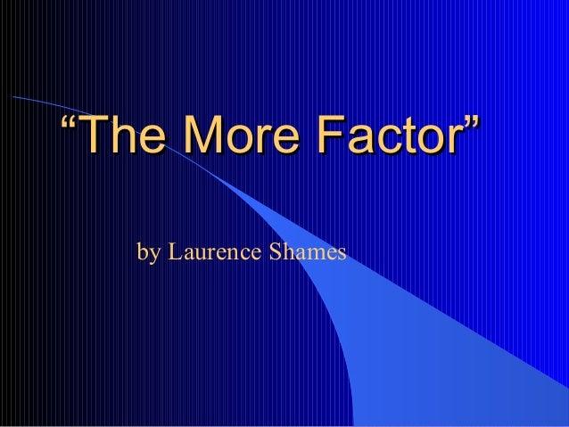 Essay Respect The More Factor By Laurence Shames   Rikki Tikki Tavi Essay also Essay American Dream Morefactorjpgcb Persuasive Essay Questions