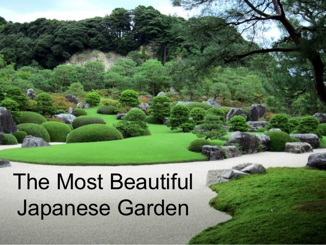 The Most BeautifulJapanese Garden