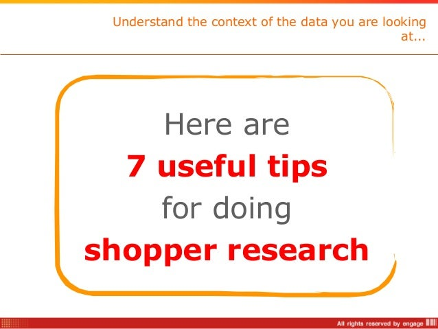 The most common mistakes in shopper research