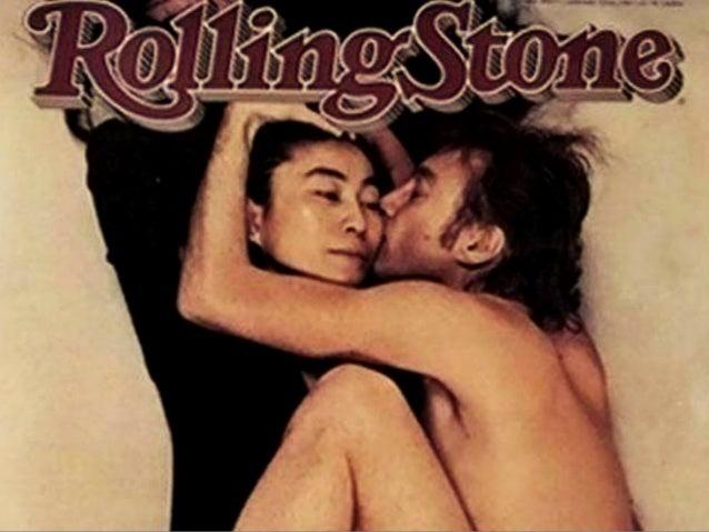 Joh n Lennon & Yoko Ono, 1980 Rolling  Stone