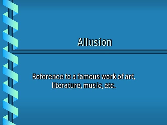 An example of allusion in The Most Dangerous Game? - Answers