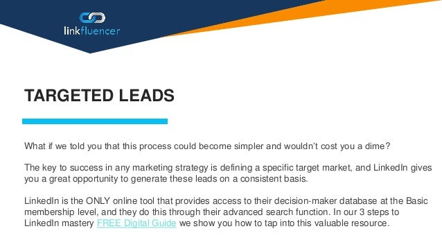 The Most Effective Lead Generation Strategy On LinkedIn Slide 3