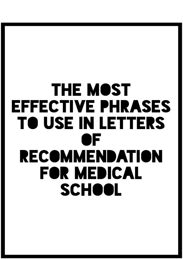 The Most Effective Phrases to Use in Letters of