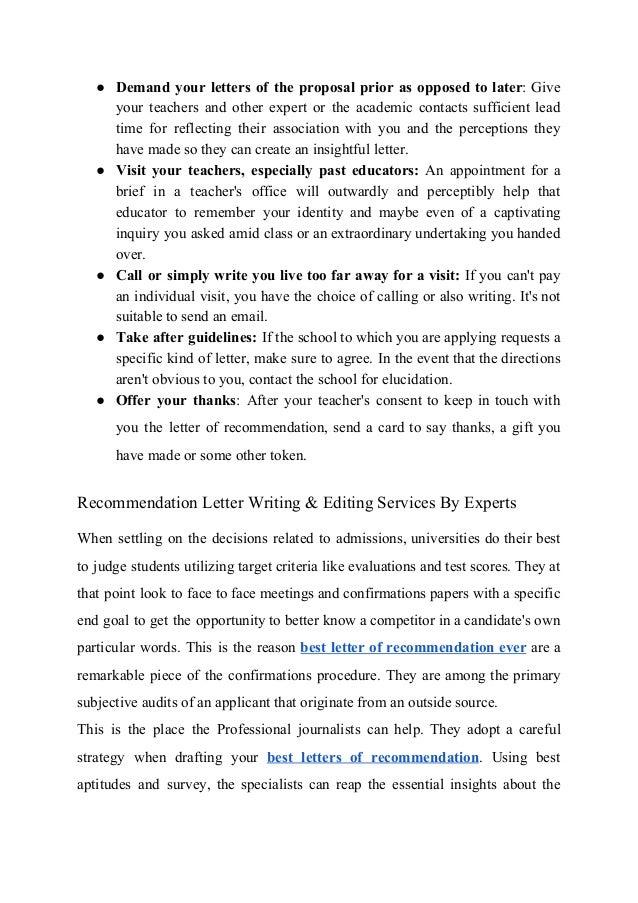 recommendation letter phrases   Hadi.palmex.co