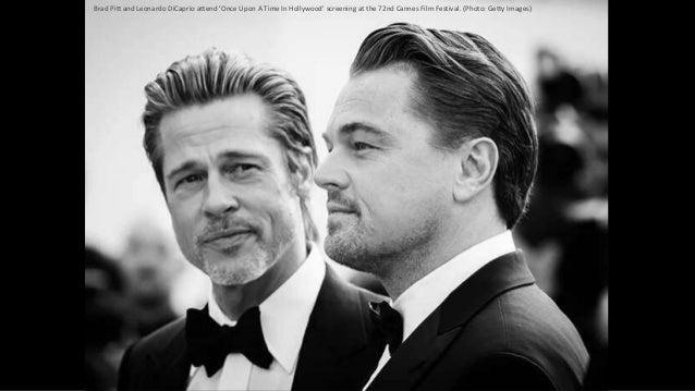 Brad Pitt and Leonardo DiCaprio attend 'Once Upon A Time In Hollywood' screening at the 72nd Cannes Film Festival. (Photo:...