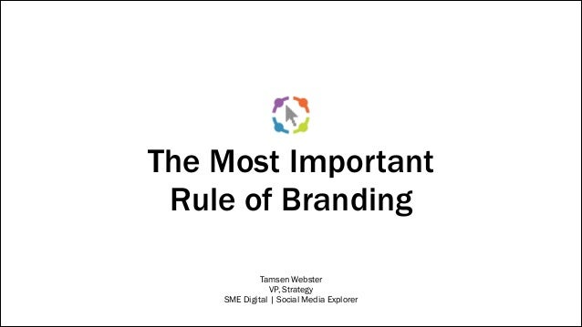 the importance of branding and ebranding marketing essay One of the most important aspects of branding is consistency ceo / founder marketing nutz, full service social media, digital marketing, experiential brand, conversion optimization agency ranked by forbes as top 10 social media women and 10 social media power influencer.