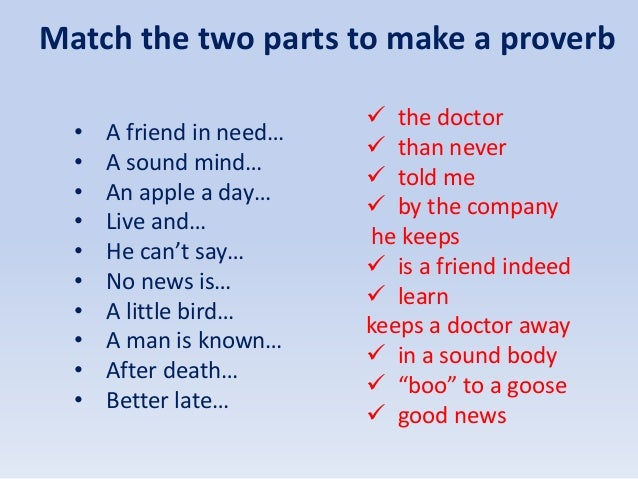 ENGLISH PROVERBS AND SAYINGS DOWNLOAD