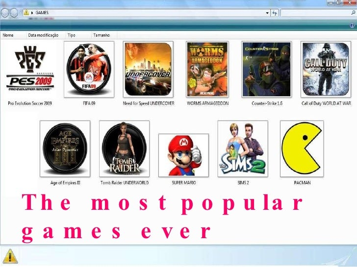 The most popular games ever