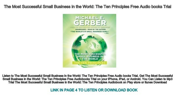 The Most Successful Small Business in the World The Ten