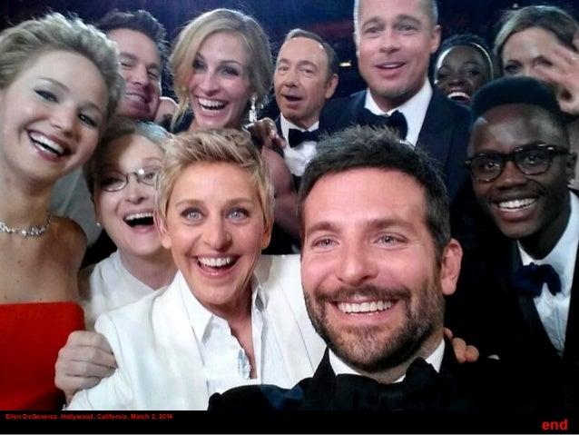 Ellen DeGeneres. Hollywood, California. March 2, 2014 end