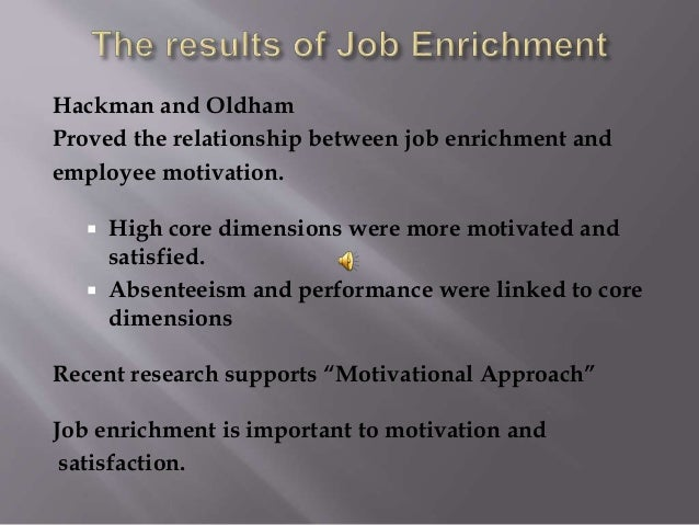 discuss the relationship between motivation job satisfaction and performance