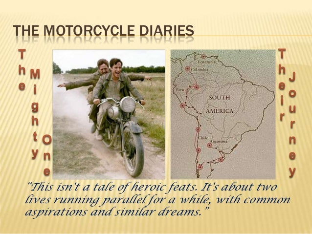 che guevara the motorcycle diaries vs his story 3 the motorcycle diaries ""