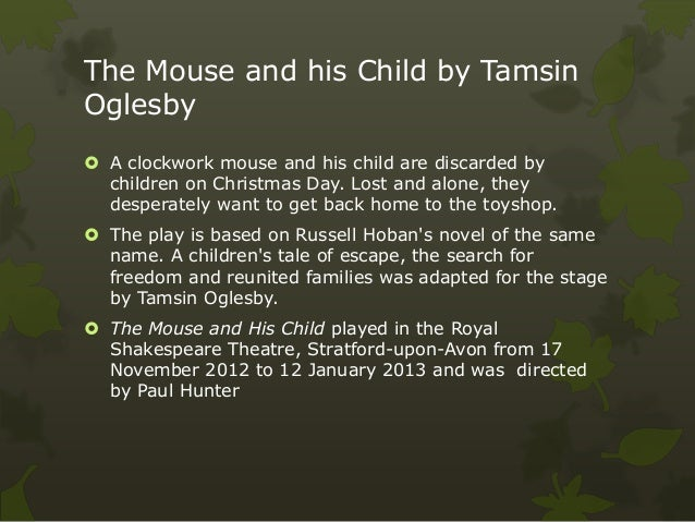 The mouse and the child Slide 2