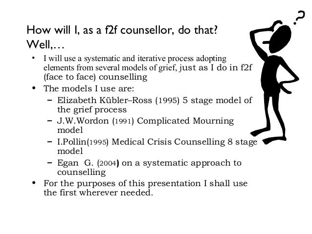 egans 3 stage counselling model The essay has explored egan's three-stage model and its use in the counselling session.