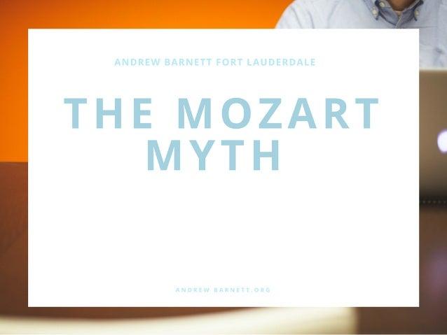 The Mozart Myth