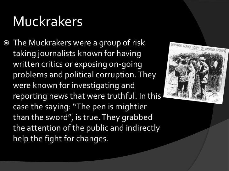 first muckraking article