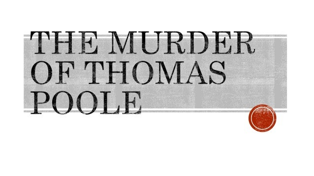 Wednesday April 23rd 1879 – Poole family murdered at Pemberton Portage  May 4th 1879 – Coroner's Jury; first accusation...