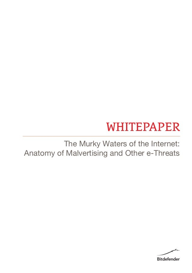 WHITEPAPER The Murky Waters of the Internet: Anatomy of Malvertising and Other e-Threats