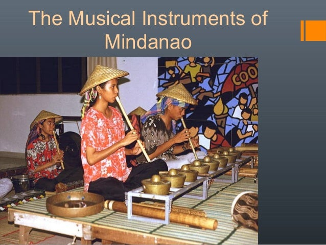 musical instruments n mindanao agong
