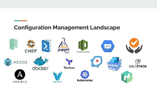 The (mutable) config management showdown Slide 3