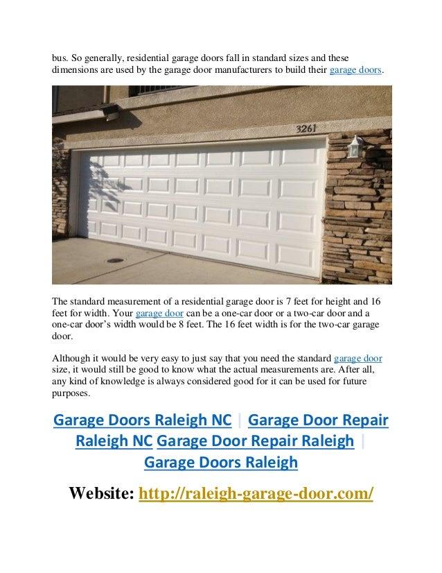 The Mystery Of Garage Door Sizes