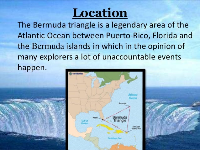 the mysterious waters of the bermuda triangle Are unusual hexagonal clouds responsible for mysterious disappearances in the bermuda triangle.