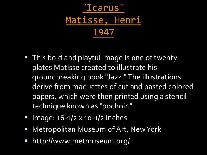 """Edward Field's Poem """"Icarus"""""""