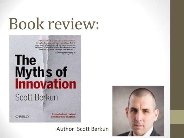Book review:  Author: Scott Berkun