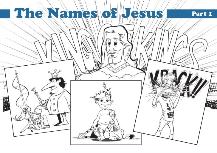 The Names of Jesus   Part 1