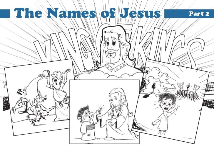The Names of Jesus   Part 2