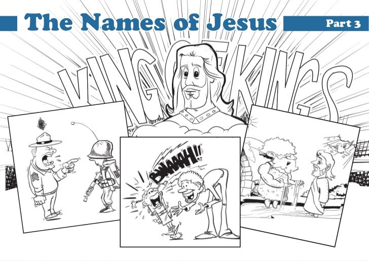 The Names of Jesus   Part 3