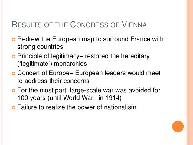 congress of vienna in 1815 ended the napoleonic wars and the turmoil in europe Austria - the age of metternich, 1815–48: the 33 years after the end of the napoleonic wars are called in austria—and to some extent in all of europe—the age of metternich the chief characteristics of this age are the onset of the industrial revolution, an intensification of social problems brought on by economic cycles of boom and bust.
