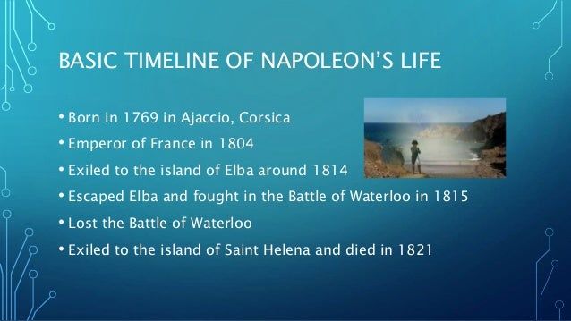the early life and military career of napoleon bonaparte Napoleon bonaparte - world leaders in history the rest of his life after completing school at a military academy at defeat of napoleon bonaparte.