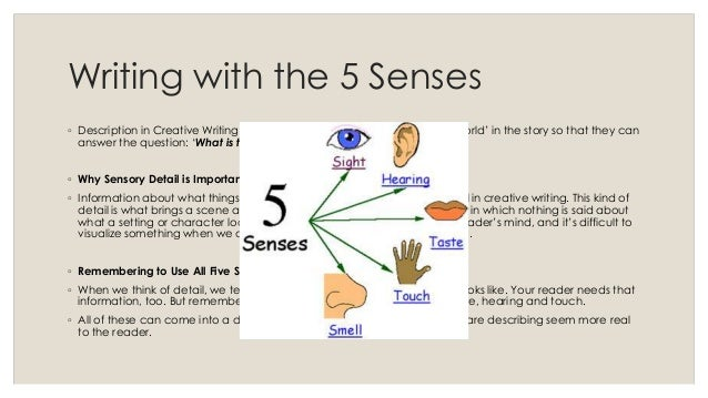 examples of descriptive essays using the five senses