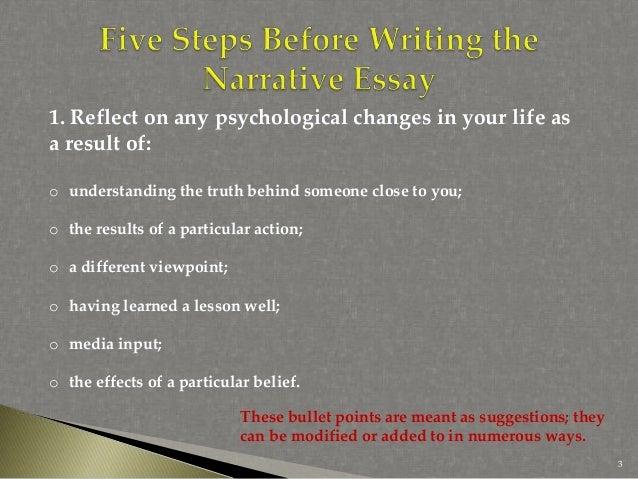 narrative essay serious choice decision