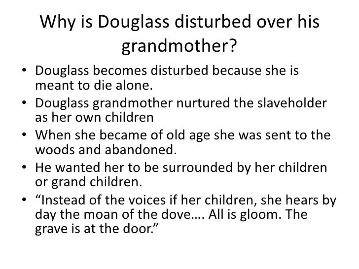 frederick douglass a slaveholder or a Frederick douglass   to treat me as she supposed one human being ought to treat another in entering upon the duties of a slaveholder,.
