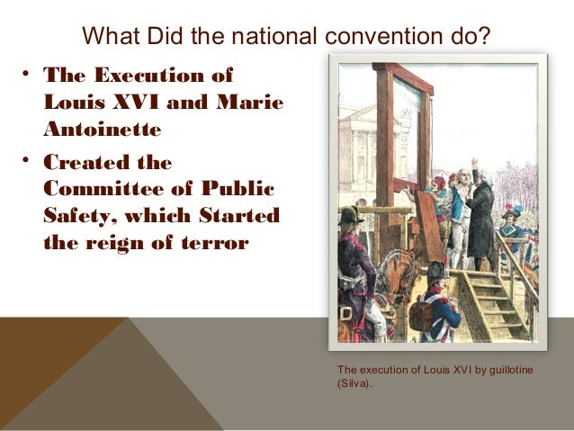 The national convention of 1792