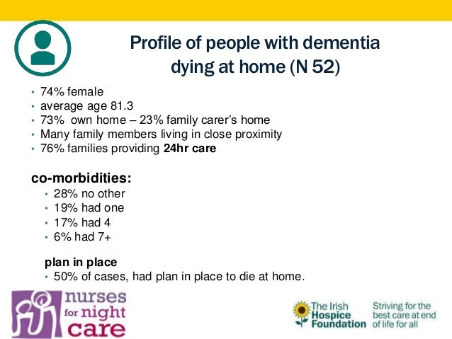 end of life dementia care essay Home health and social care question: eol 308 end of life and dementia care level 5 answer: part of my job role is to provide good quality end of life care to.