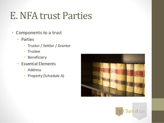 The National Firearms Act and Gun Trusts