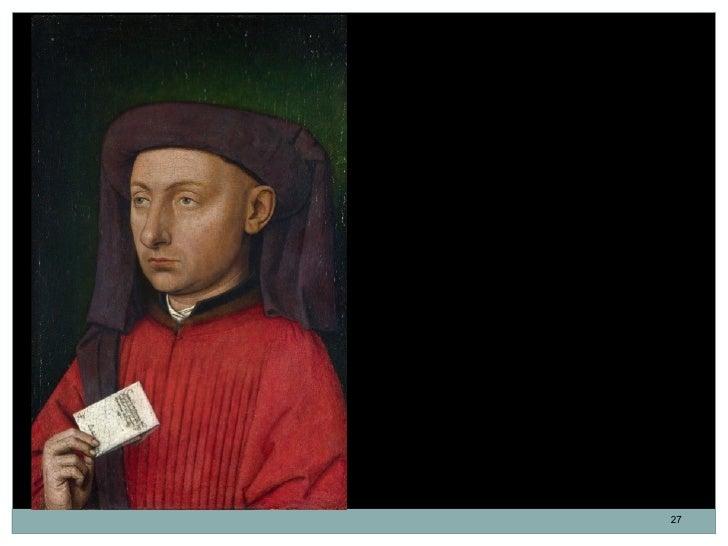 Marco Barbarigo.Seguidor de Jan van Eyck. 1449-1450.Identificado por la inscripción que figura en lacarta. Marco, hijo de ...