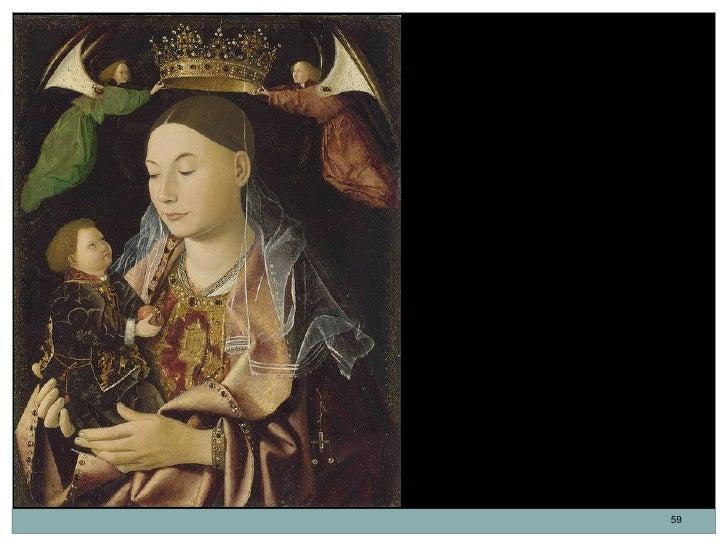 La Virgen y el Niño.Atribuido a Antonello da Messina. Óleosobre tabla. 43,2 x 34,3 cm. 1460-1469.La Virgen María no sólo s...