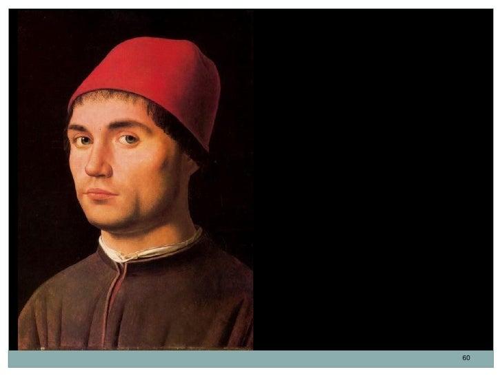 Retrato de un hombre.Antonello da Messina.Óleo sobre tabla. 36 x 25 cm. 1473.La tabla siempre ha estado rodeada deuna cier...