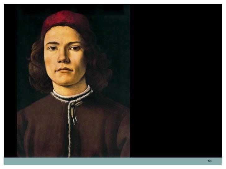 Retrato de un joven.Sandro Botticelli. Tempera y óleosobre madera. 37,5 x 28,2 cm.1480-1485.Se desconoce la identidad de e...